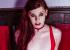 Chelsea Poe in red Latex