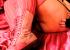 Gloria Divine strips in thier pink bedroom